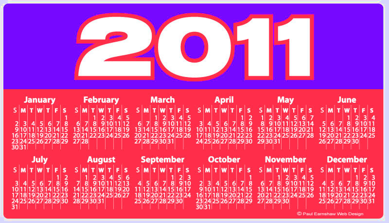 2011 calendar with holidays wallpaper. Small+2011+calendar