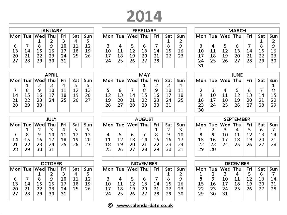 Calendar 2014 With Islamic Dates | New Calendar Template Site
